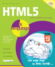 HTML5 in Easy Steps, Paperback Book
