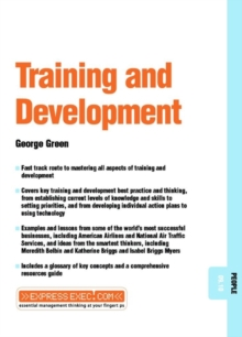 Training and Development : People 09.10, Paperback / softback Book