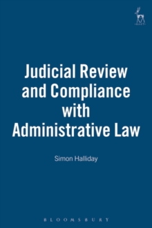 Judicial Review and Compliance with Administrative Law, Hardback Book