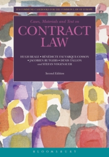 Contract Law : Ius Commune Casebooks for the Common Law of Europe, Paperback Book