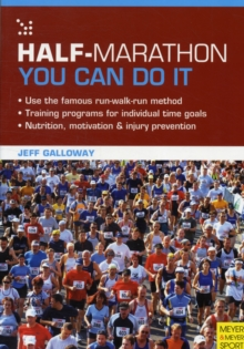 Half Marathon: You Can Do it : You Can Do it, Hardback Book