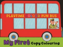 My First Copy Colouring : Bus, Paperback / softback Book