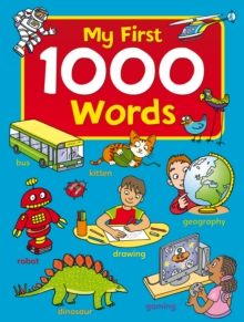 First 1000 Words, Hardback Book