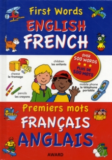First Words : English - French, Hardback Book