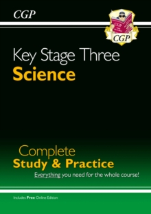 KS3 Science Complete Study & Practice : Complete Revision and Practice, Paperback Book