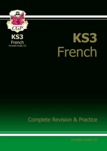KS3 French Complete Revision and Practice with Audio CD, Paperback Book