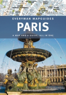 Paris Everyman Mapguide, Hardback Book