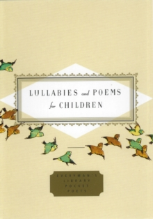 Lullabies and Poems for Children, Hardback Book