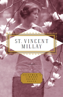 Poems: Edna St Vincent Millay, Hardback Book