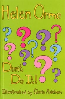 Don't Do it!, Paperback Book