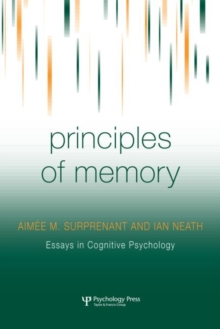 Principles of Memory, Hardback Book