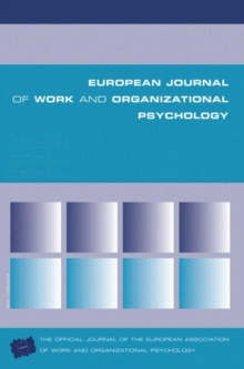 Leadership and Fairness : A Special Issue of the European Journal of Work and Organizational Psychology, Paperback Book