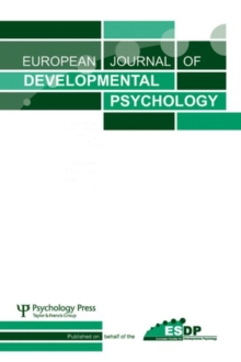 Developmental Co-construction of Cognition : A Special Issue of European Journal of Developmental Psychology, Paperback Book