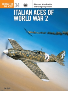 Italian Aces of World War 2, Paperback Book