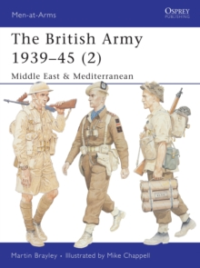 The British Army 1939-1945 : North Africa and Italy Pt. 2, Paperback Book
