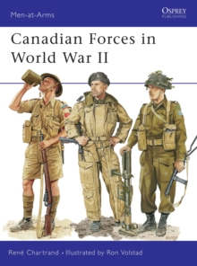 Canadian Forces in World War II, Paperback Book