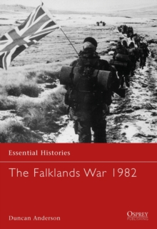 The Falklands War 1982, Paperback Book