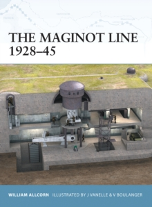 The Maginot Line 1928-45, Paperback Book