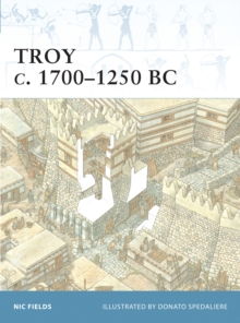 Troy 1800-1250 BC, Paperback Book
