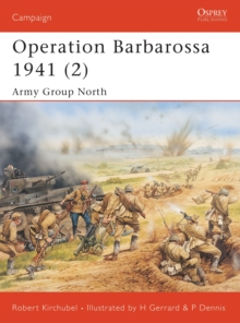 Operation Barbarossa, 1941 : Army Group North v. 2, Paperback Book