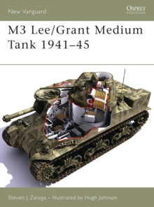 M3 Lee/Grant Medium Tank 1941-45, Paperback Book
