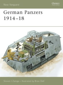 German Panzers 1914-18, Paperback Book