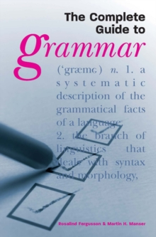 The Complete Guide to Grammar, Paperback Book