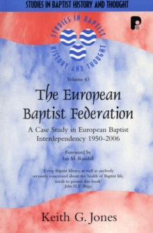 Sbht: The European Baptist Federation, Paperback Book