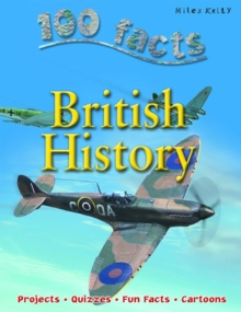 100 Facts - British History, Paperback Book