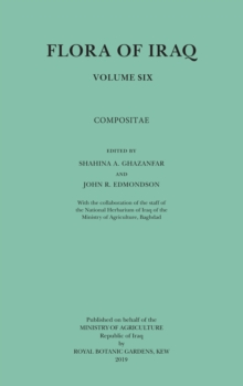 Flora of Iraq Volume Six : Compositae, Paperback / softback Book
