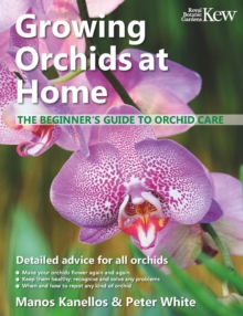Growing Orchids at Home : The Beginner's Guide to Orchid Care, Paperback / softback Book