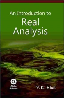 An Introduction to Real Analysis, Hardback Book