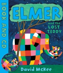 Elmer and the Lost Teddy : Board Book, Paperback / softback Book