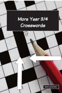More Year 3-4 Crosswords, Mixed media product Book