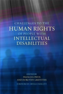 Challenges to the Human Rights of People with Intellectual Disabilities, Paperback / softback Book