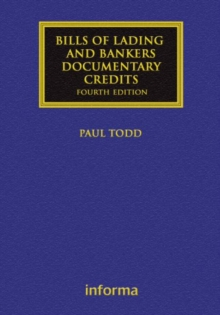 Bills of Lading and Bankers' Documentary Credits, Hardback Book