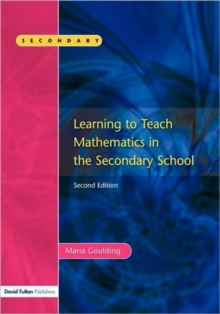 Learning to Teach Mathematics, Hardback Book