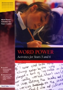 Word Power : Activities for Years 5 and 6, Paperback / softback Book