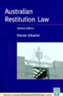 Australian Restitution Law, PDF eBook