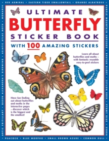 Ultimate Butterfly Sticker Book : With 100 Amazing Stickers, Pamphlet Book