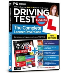 Driving Test Success the Complete Learner Driver Suite, DVD-ROM Book
