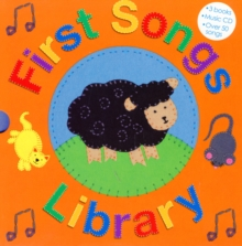 First Songs Library with CD : Sing-along Books, Board book Book