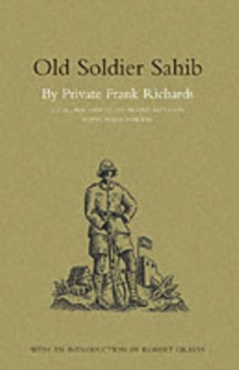 Old Soldier Sahib, Paperback Book