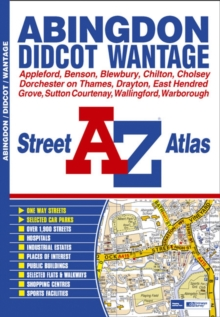 Abingdon Street Atlas, Sheet map Book