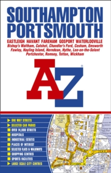 Southampton and Portsmouth Street Atlas, Paperback Book
