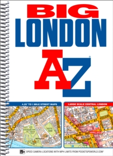 Big London Street Atlas, Spiral bound Book