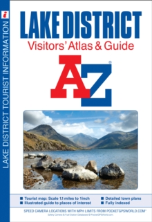 Lake District Visitors' Atlas, Paperback / softback Book