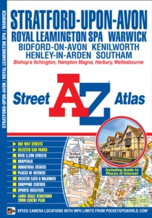 Stratford Upon Avon Street Atlas, Paperback / softback Book