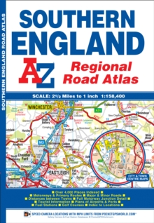 Southern England Regional Road Atlas, Paperback Book