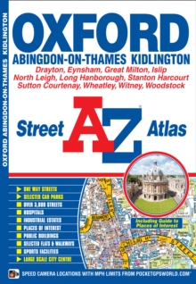 Oxford Street Atlas, Paperback / softback Book